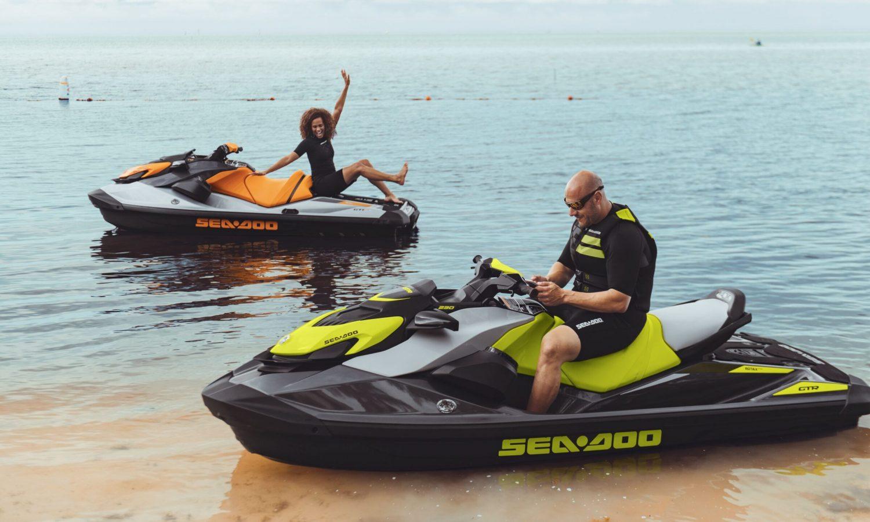 Sea-Doo GTR large swim platform